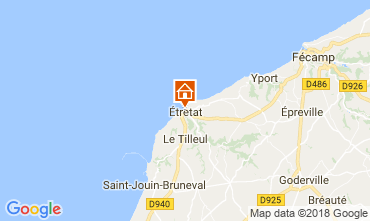 Map Etretat House 113628