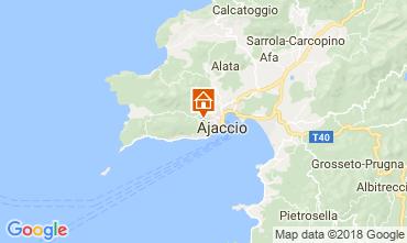 Map Ajaccio Chalet 114524