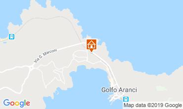 Map Aranci Gulf Villa 61414