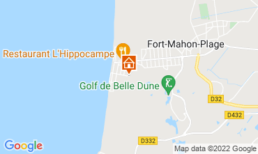 Map Fort Mahon Apartment 114235
