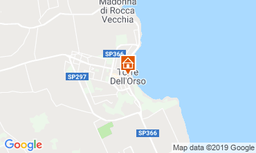 Map Torre dell'Orso Apartment 118207