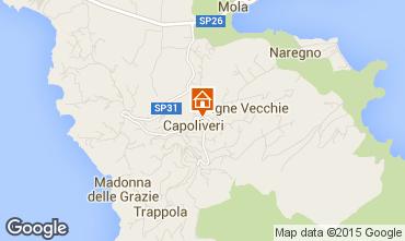 Map Capoliveri Apartment 74194