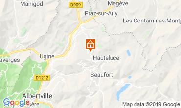 Map Les Saisies Studio apartment 2710