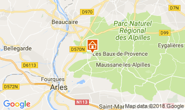 Map Arles Self-catering property 113951