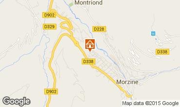 Map Morzine Flat 1971