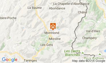 Map Morzine Chalet 1973