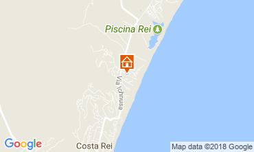Map Costa Rei Apartment 114986