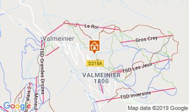 Map Valmeinier Apartment 118538