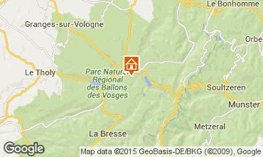 Map Gérardmer Chalet 35155