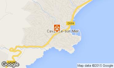 Map Cavalaire-sur-Mer Apartment 93859