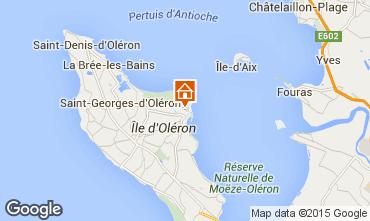 Map Saint Georges d'Oléron Villa 6929