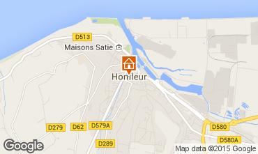 Map Honfleur Apartment 98058
