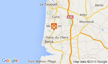 Map Le Touquet House 105489