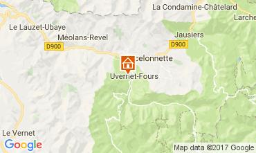 Map Pra Loup Studio apartment 74321