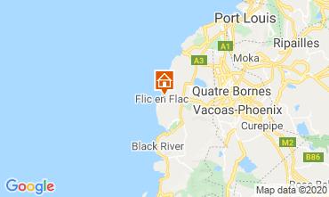 Map Flic-en-Flac Bungalow 17097