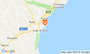 Map Noto Villa 117388