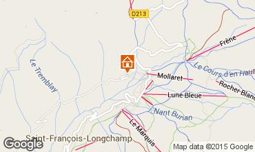 Map Saint François Longchamp Apartment 68919