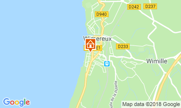Map Wimereux Villa 117623
