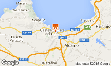 Map Castellammare del Golfo Apartment 80320