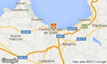 Map Castellammare del Golfo Apartment 80320