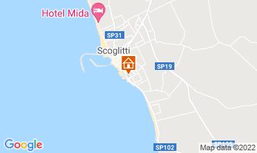 Map Scoglitti Apartment 70347