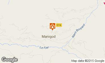 Map Manigod-Croix Fry/L'étale-Merdassier Chalet 101553