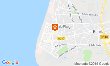 Map Berck-Plage Apartment 118846