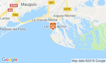 Map Le Grau du Roi Apartment 81038