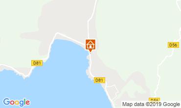 Map Sagone Villa 117055