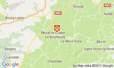 Map La Bourboule Chalet 111687