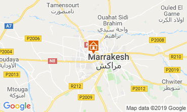 Map Marrakech Apartment 118460