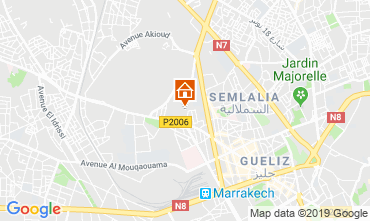 Map Marrakech Apartment 118460