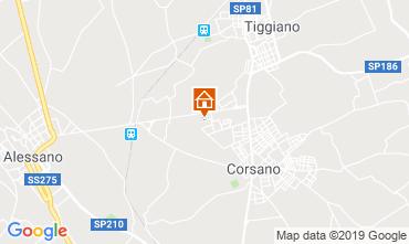 Map Santa Maria di Leuca Apartment 88856