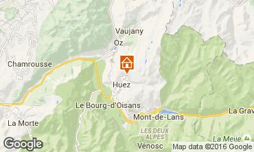 Map Alpe d'Huez Apartment 97