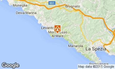 Map Monterosso al Mare Apartment 50061