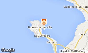 Map Noirmoutier en l'Île Villa 93515