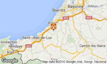 Map Biarritz Villa 63196