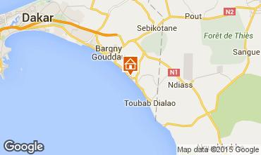 Map Toubab Dialaw Villa 68147