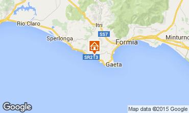 Map Gaeta Studio apartment 79110