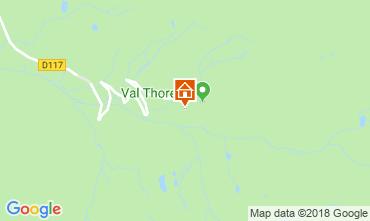 Map Val Thorens Apartment 116916
