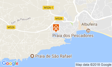 Map Albufeira Apartment 103742