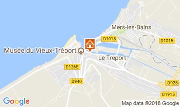 Map Le Tréport Apartment 112122