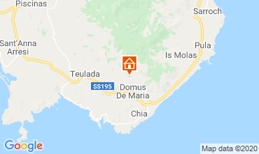 Map Domus de Maria Apartment 108726