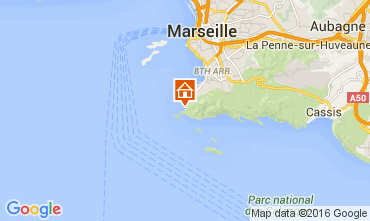 Map Marseille Apartment 104224