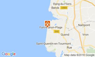 Map Fort Mahon Apartment 114689