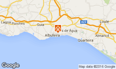 Map Albufeira Apartment 102566