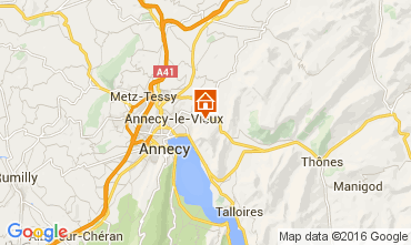 Map Annecy House 12927