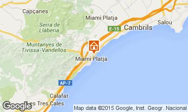 Map Miami Playa Apartment 81831