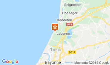 Map Capbreton House 119568