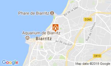 Map Biarritz Apartment 112939